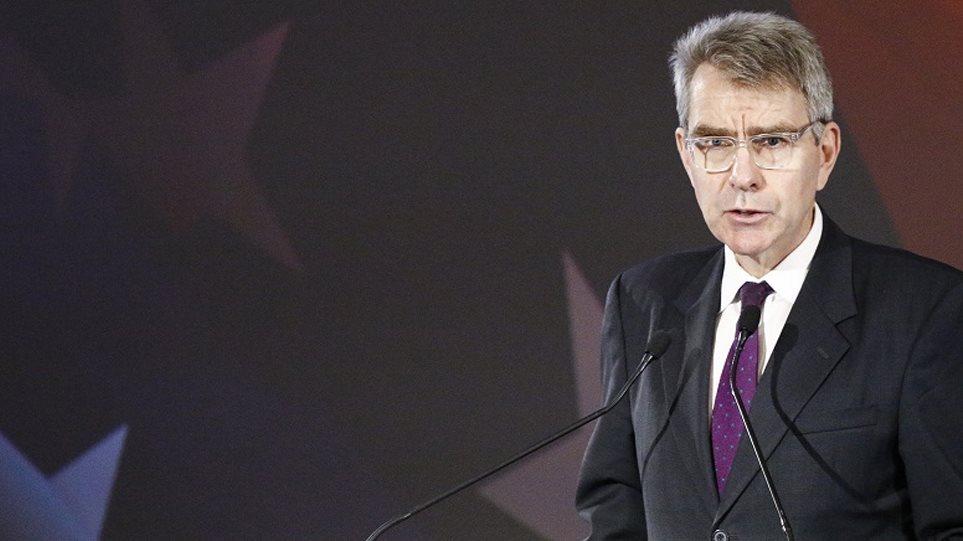 Πάιατ: Αναμφισβήτητη η ελληνική κυριαρχία – Δεν θα προβληματιζόμουν για τους «χάρτες» του Ερντογάν