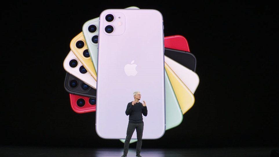 Η Apple παρουσίασε το νέο μοντέλο iPhone - Δείτε όλα τα εντυπωσιακά χαρακτηριστικά του (ΦΩΤΟ-VIDEO)
