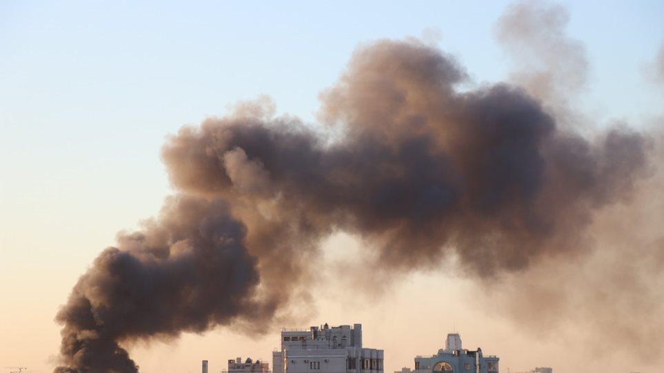 algeria-fire-building