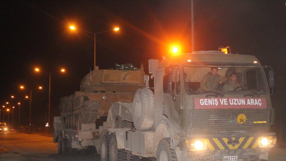 Η Τουρκία ενισχύει τα στρατεύματα στα σύνορα με τη Συρία - Πώς επηρεάζεται η Ελλάδα