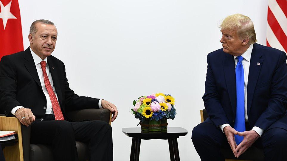 """Ο Donald Trump δηλώνει: """"Αν η Τουρκία ξεφύγει από τα όρια θα καταστρέψω την οικονομία της"""""""