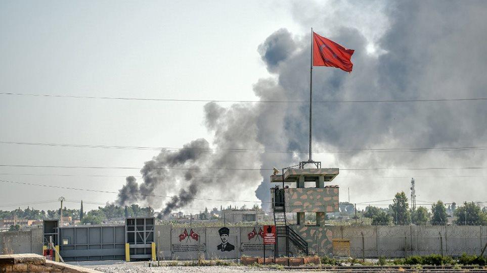 Συρία: Οι Τούρκοι βομβαρδίζουν φυλακές για να αποδράσουν οι τζιχαντιστές, λένε οι Κούρδοι