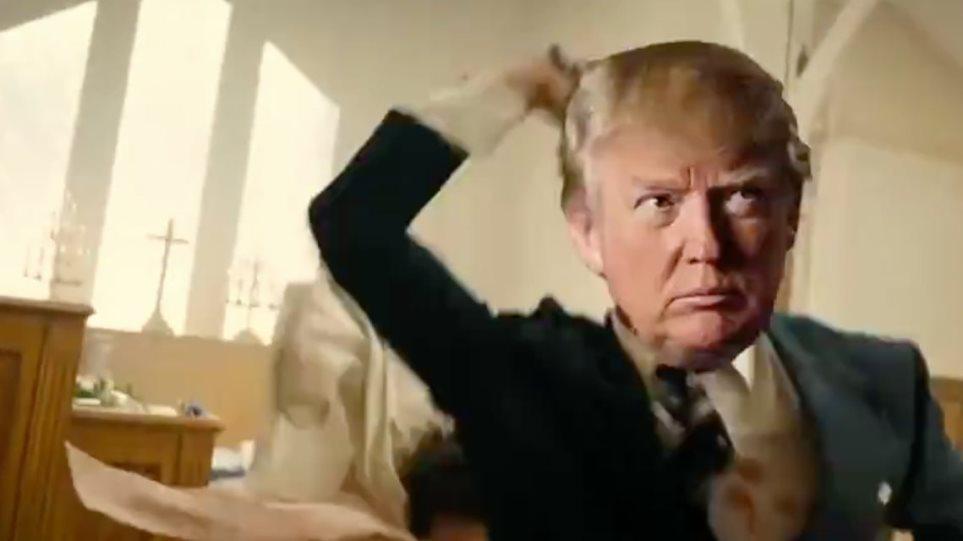 ΗΠΑ: Σάλος με βίντεο που δείχνει τον «Τραμπ» να σκοτώνει CNN, BBC, Χίλαρι Κλίντον και Μπέρνι Σάντερς