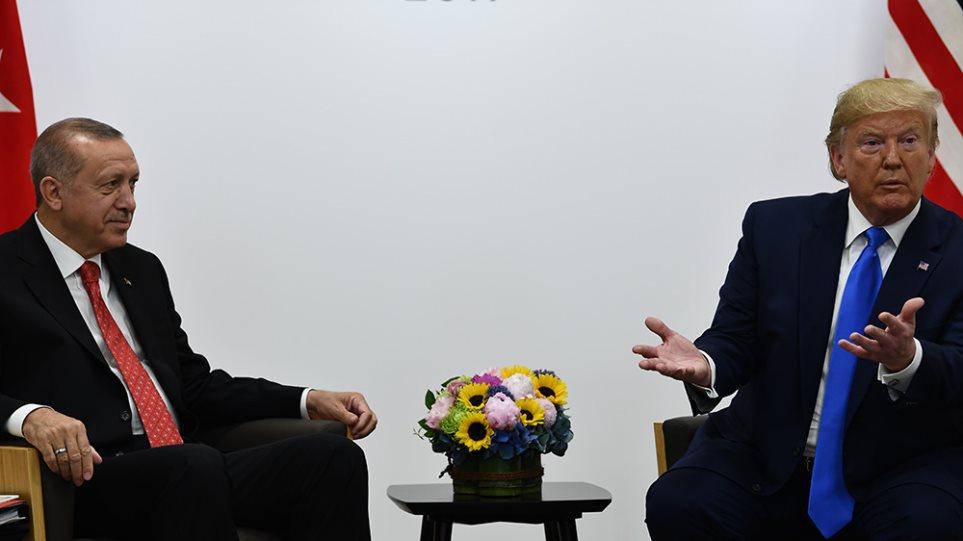 Βαριές οικονομικές κυρώσεις Τραμπ στην Τουρκία για την εισβολή στη Συρία