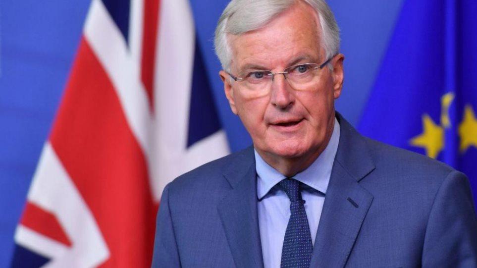 Μπαρνιέ: Ανάλογη των δεσμεύσεων που θα αναλάβει, η πρόσβαση του Λονδίνου στην αγορά της ΕΕ μετά το Brexit