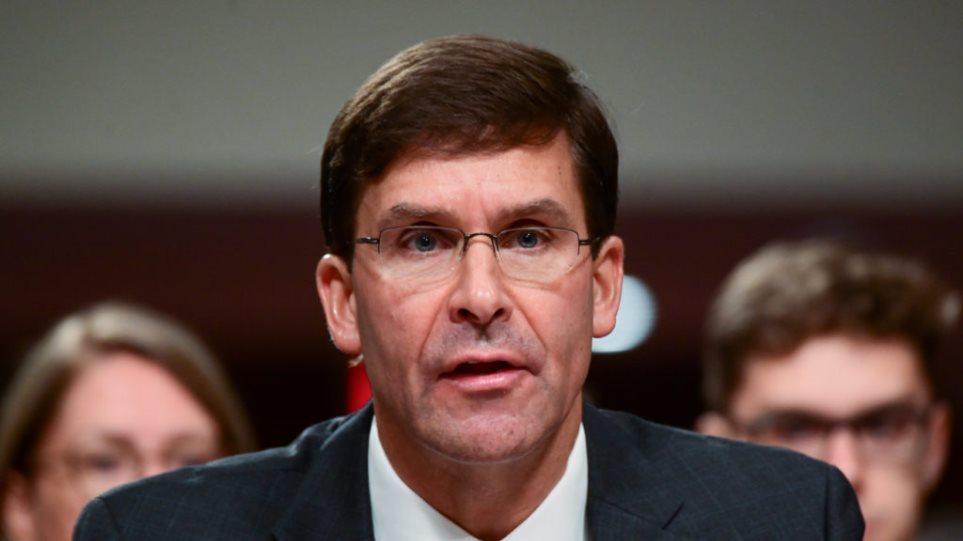 Μαρκ Έσπερ: Όλα τα αμερικανικά στρατεύματα που αποσύρονται από τη Συρία θα μεταφερθούν στο Ιράκ