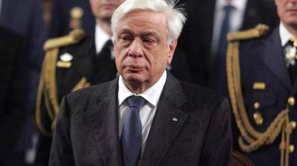 Παυλόπουλος: Για την υπεράσπιση της ειρήνης και της δημοκρατίας δεν επιτρέπεται να υπάρχουν δισταγμοί και ολιγωρίες