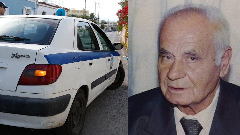 Ανατροπή-σοκ: Η εξαφάνιση που έγινε ανθρωποκτονία - Δολοφόνος ο κουμπάρος του 92χρονου ήρωα πολέμου