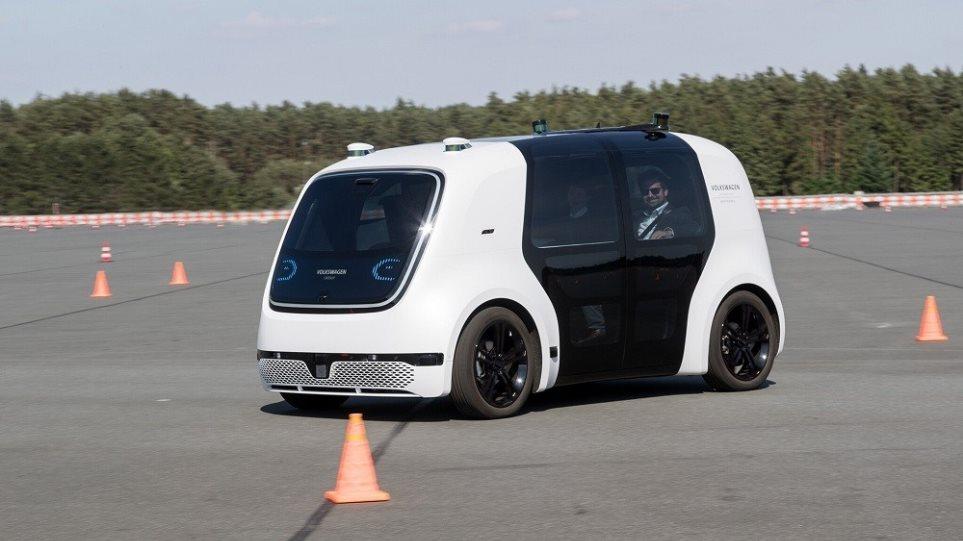 Οχήματα αυτόνομης οδήγησης ετοιμάζει η VW