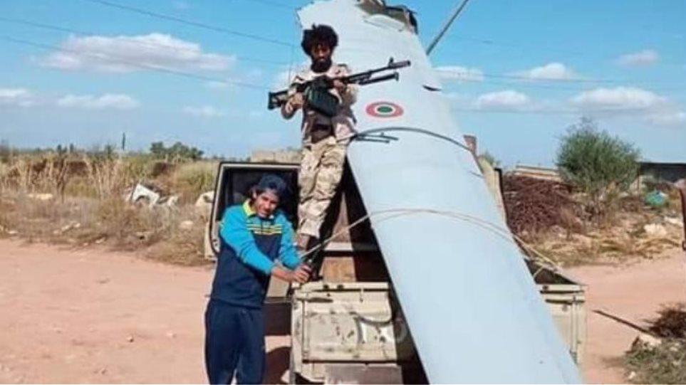 Λιβύη: Οι δυνάμεις του Χάφταρ κατέρριψαν ιταλικό drone