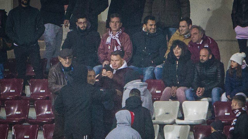 Προπηλακισμούς δέχτηκε ο Αλέξης Κούγιας στις κερκίδες του AEL FC Arena (ΦΩΤΟ-VIDEO)