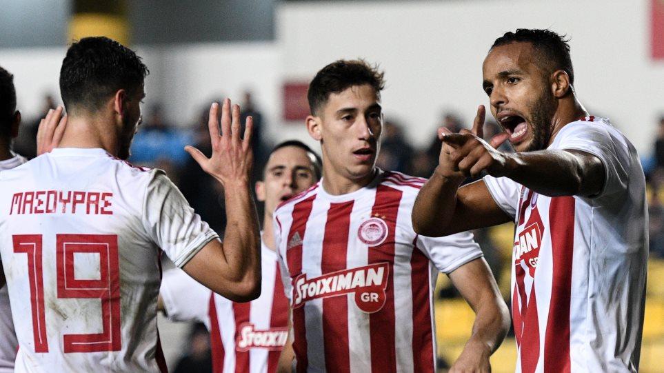 Super League: Παναιτωλικός - Ολυμπιακός 0–3