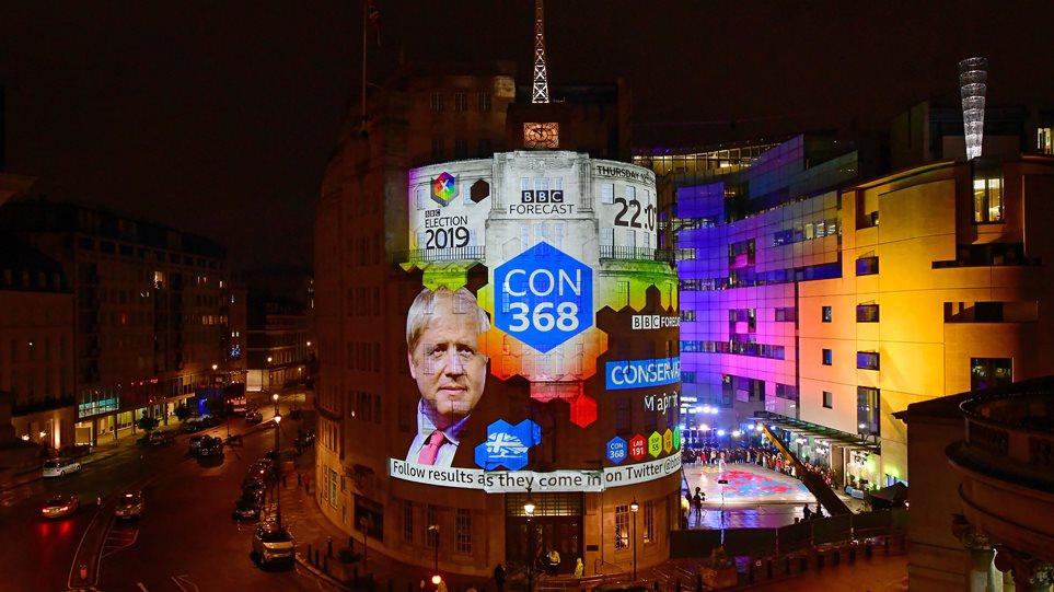 Εκλογές στη Βρετανία: Αυτοδυναμία Τζόνσον με 368 έδρες δείχνει το exit poll - Ολοταχώς για Brexit