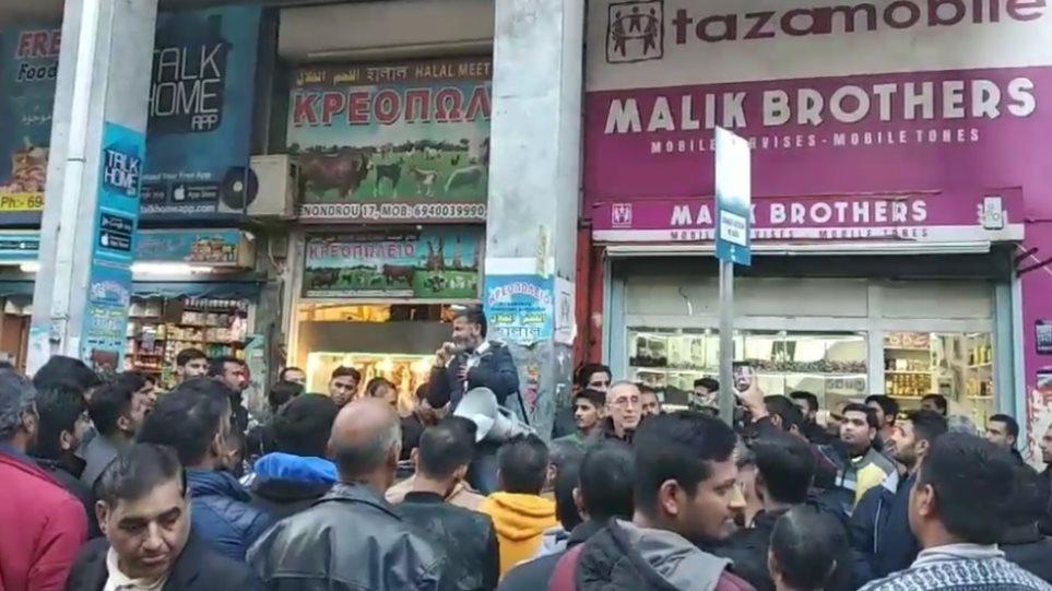 Η πακιστανική κοινότητα ζητά την τιμωρία άνδρα που έβρισε το Ισλάμ σε συγκέντρωσή τους