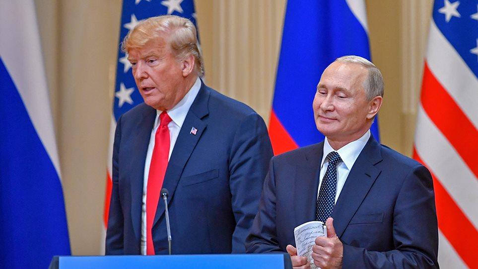 «Πόλεμος» Τραμπ - Πούτιν για τον Nord Stream 2: Θα ζητήσουν να σταματήσουμε να αναπνέουμε, λέει η Μόσχα