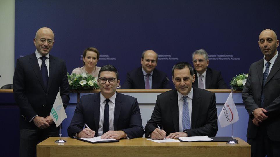 EastMed: Υπογράφτηκε το προσύμφωνο ΔΕΠΑ- Energean