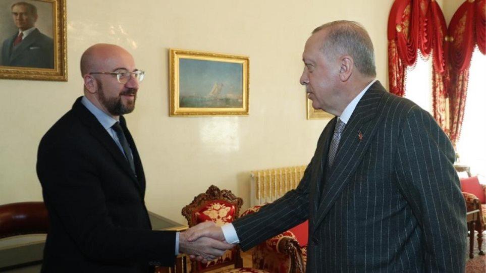 Σαρλ Μισέλ σε Ερντογάν: Παράνομες οι τουρκικές γεωτρήσεις- Ανησυχία για το μνημόνιο Λιβύης – Τουρκίας