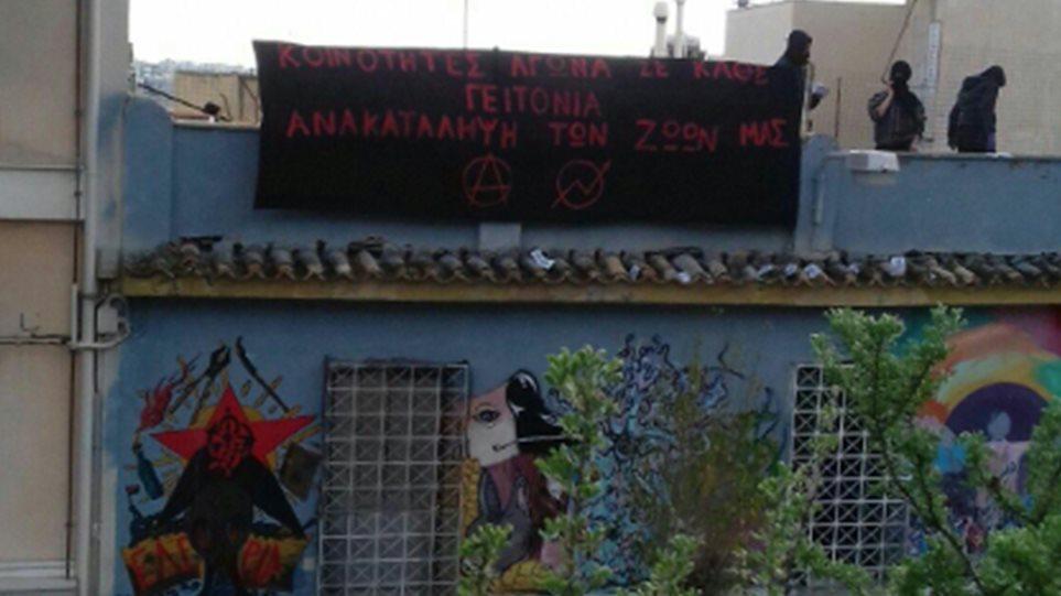 Αντιεξουσιαστές επέστρεψαν στο Κουκάκι - ΜΑΤ σε Ματρόζου και Παναιτωλίου