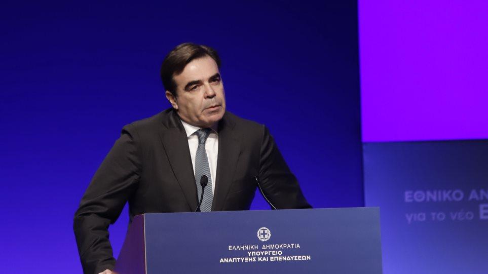 Μαργαρίτης Σχοινάς: Ρεαλιστικό η Ελλάδα να λάβει 21 δισ. από το νέο ΕΣΠΑ