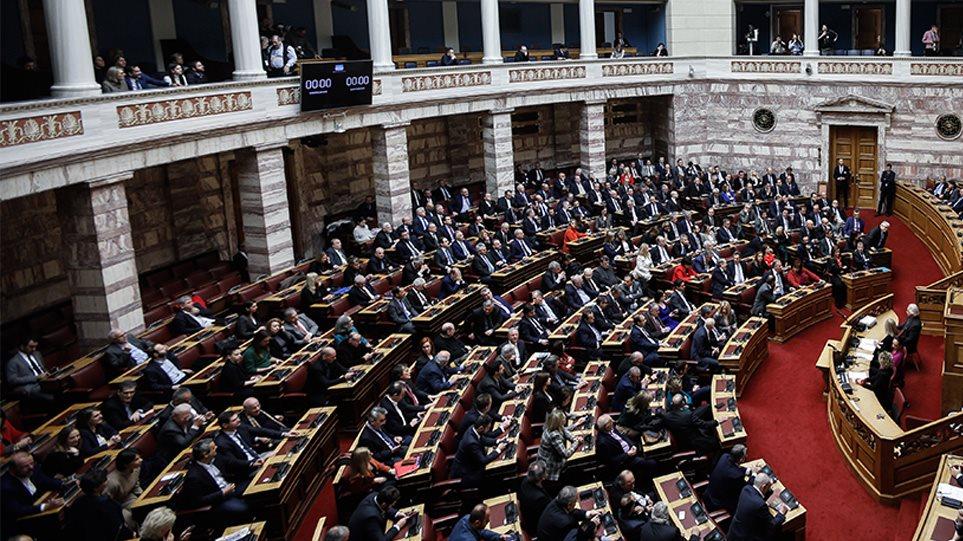 Υπερψηφίστηκε με 163 «ναι» ο νέος εκλογικός νόμος