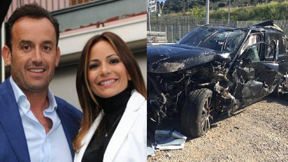 Ιόνια Οδός: Σοβαρό τροχαίο για τον επιχειρηματία Βασίλη Χήτο και τη σύζυγό του
