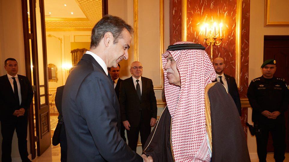 Εύσημα σε Μητσοτάκη από τους Σαουδάραβες: «Υποδείξετε μας επενδυτικές ευκαιρίες»