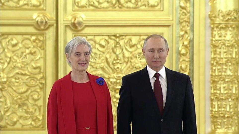 Πούτιν: Προς το συμφέρον Ρωσίας-Ελλάδας η περαιτέρω ανάπτυξη της συνεργασίας