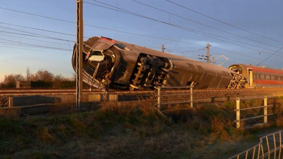 Εκτροχιασμός τρένου κοντά στο Μιλάνο: Τουλάχιστον δύο νεκροί και 30 τραυματίες