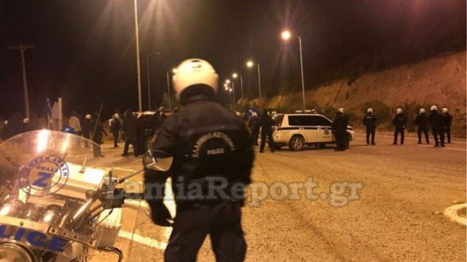 Λαμία: Επεισόδια με οπαδούς της Λάρισας - Τραυματίστηκε αστυνομικός