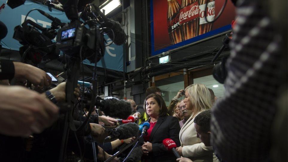 Εκλογές στην Ιρλανδία: Συμμετοχή στην επόμενη κυβέρνηση διεκδικεί το Σιν Φέιν