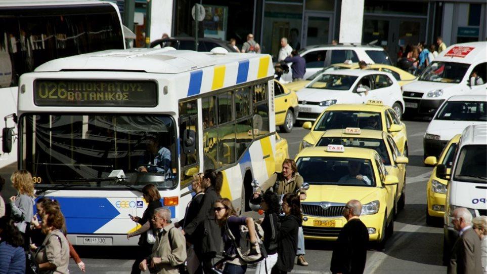 «Γολγοθάς» οι μετακινήσεις την Τρίτη: «Χειρόφρενο» σε λεωφορεία, τρόλεϊ, μετρό και Ηλεκτρικό!