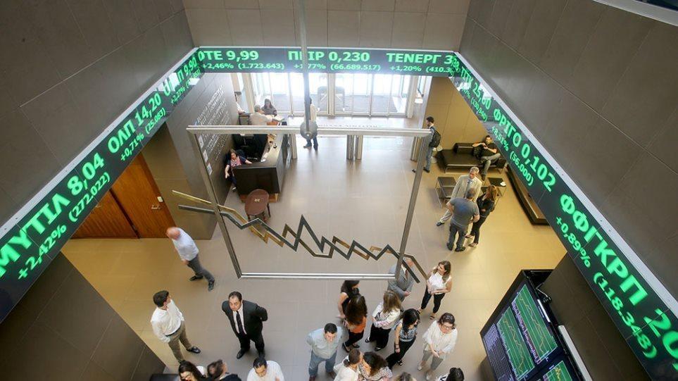 Χρηματιστήριο Αθηνών: «Ξέσπασμα» με ισχυρό άλμα 6,38%