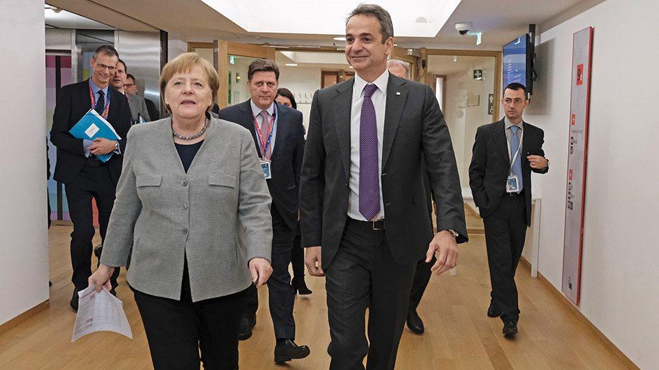 Μητσοτάκης: Συνάντηση με Μακρόν, Μέρκελ, Κόντε και Σάντσεθ για τον προϋπολογισμό της ΕΕ