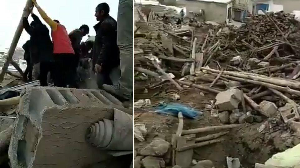 Σεισμός 5,7 Ρίχτερ στα σύνορα Τουρκίας με Ιράν - Επτά νεκροί