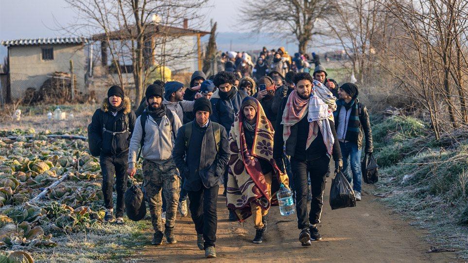 Μετανάστες στα σύνορα: Μετακινούνται νοτιότερα στον Έβρο ...