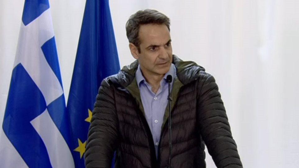 Μητσοτάκης από Έβρο: Η ΕΕ απέτυχε στο Μεταναστευτικό - Διακινητής μεταναστών η Τουρκία - 700 εκατ. βοήθεια - Βίντεο