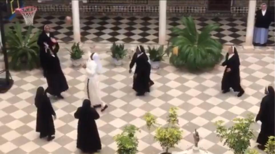 nuns-basket-spain
