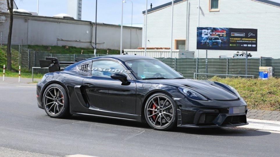 Δοκιμή: Porsche 718 Cayman GT4