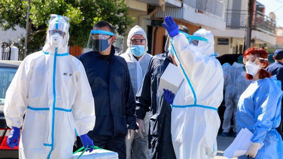 Δώδεκα νέα κρούσματα στον οικισμό της Νέας Σμύρνης στη Λάρισα