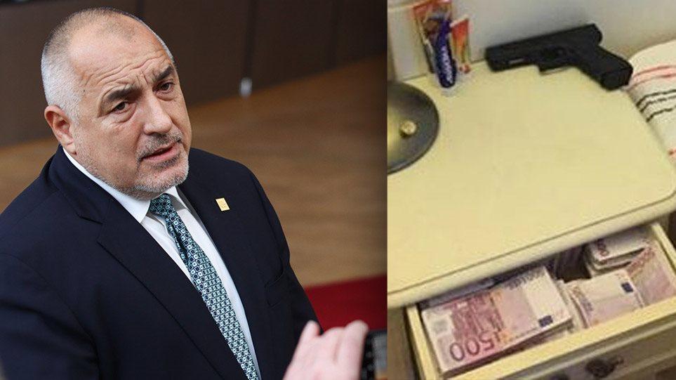 «Σεισμός» στη Βουλγαρία για τον Μπορίσοφ: Κοιμάται με ένα πιστόλι, χαρτονομίσματα των €500 και ράβδους χρυσού