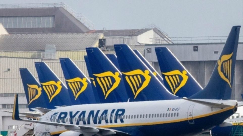 Ryanair: Μειώσεις στους μισθούς αλλιώς απολύονται 3500 εργαζόμενοι, λέει η διοίκηση
