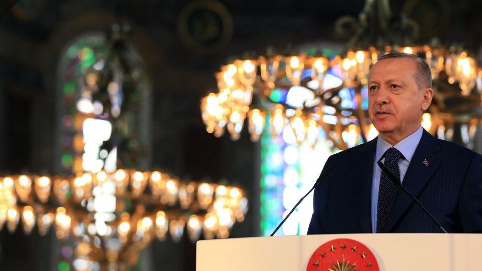 Erdogan-agia-sofia-arthrou