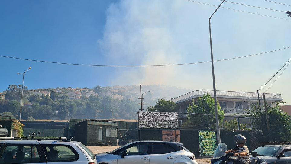 Φωτιά στη Βάρη: Εκκενώνονται τα χωριά SOS - Δείτε βίντεο και φωτογραφίες