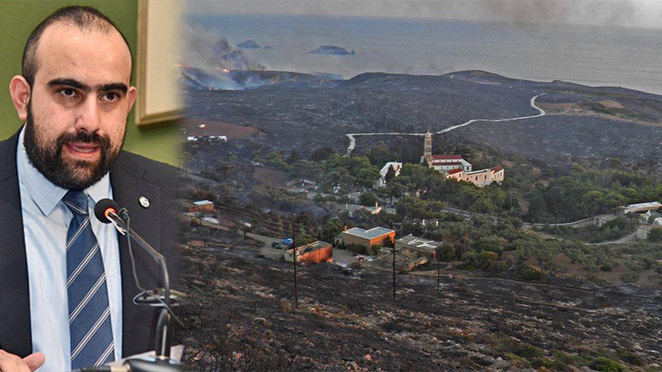 Δήμαρχος Κυθήρων (ΘΕΜΑ 104,6): Κάηκε το νησί για να «καθαρίσει» ο Καπέλιος τον Βασιλειάδη
