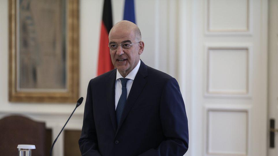 Ανατολική Μεσόγειος: «Μπαράζ» διπλωματικών επαφών Δένδια για τις εξελίξεις