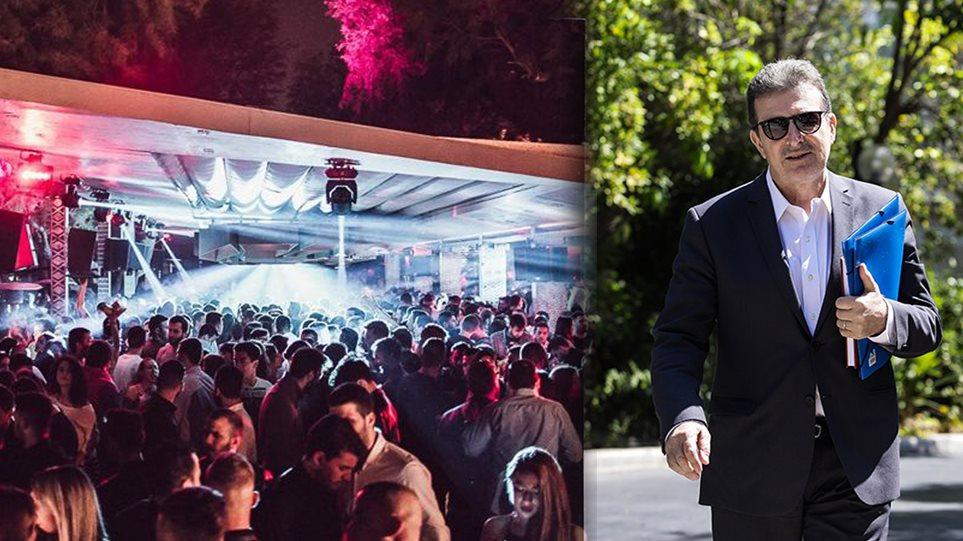 Κορωνοϊός: Ξεφεύγει η κατάσταση μέσα από τα κέντρα διασκέδασης - Πρωτοβουλίες από Χρυσοχοΐδη(video)