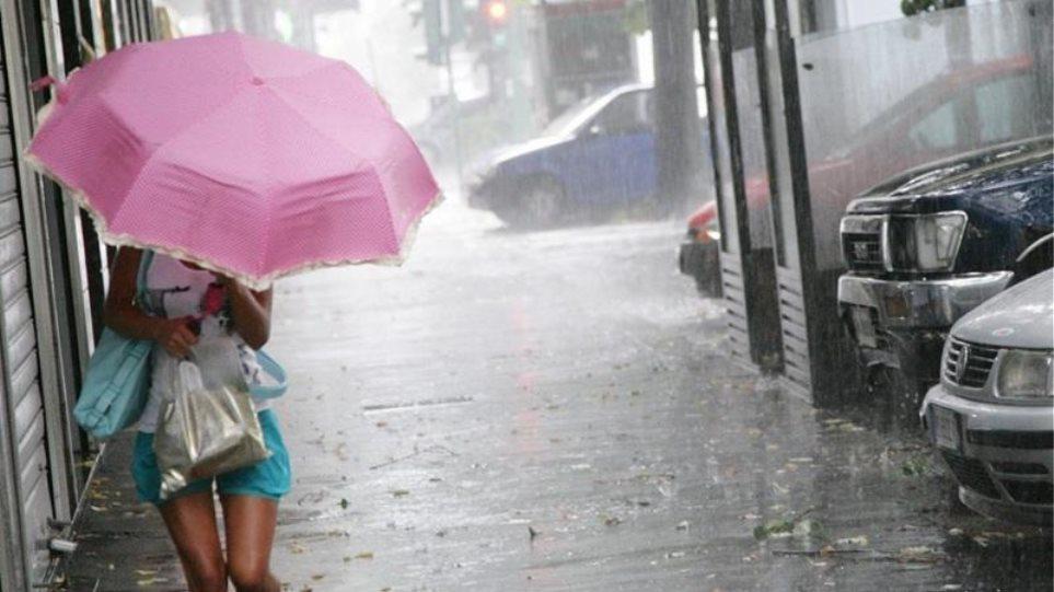 Καιρός: Βροχές, καταιγίδες και πτώση θερμοκρασίας έως και την Κυριακή