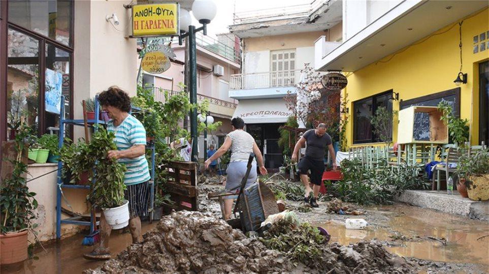 Σε έκτακτη ανάγκη κηρύχθηκαν οι Δήμοι Χαλκιδέων, Διρφύων-Μεσσαπίων και Τανάγρας