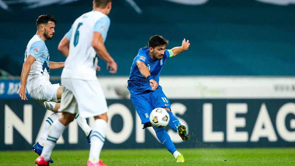 Nations League, Σλοβενία-Ελλάδα 0-0: Είχε όρεξη, αλλά δεν είχε λύσεις