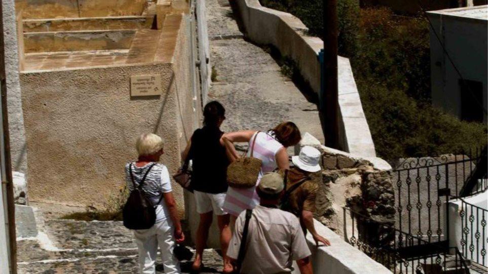 touristes-santoriuni